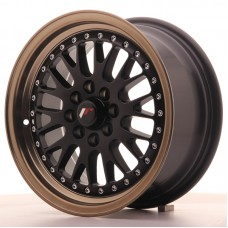 Japan Racing JR10 15X7 ET30 4x100/108 Matt Black BzLip